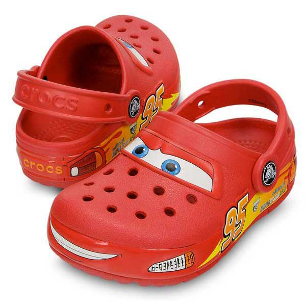 taniej niska cena nowy przyjazd Crocs Lights Cars kup i oferty, Waveinn Drewniaki