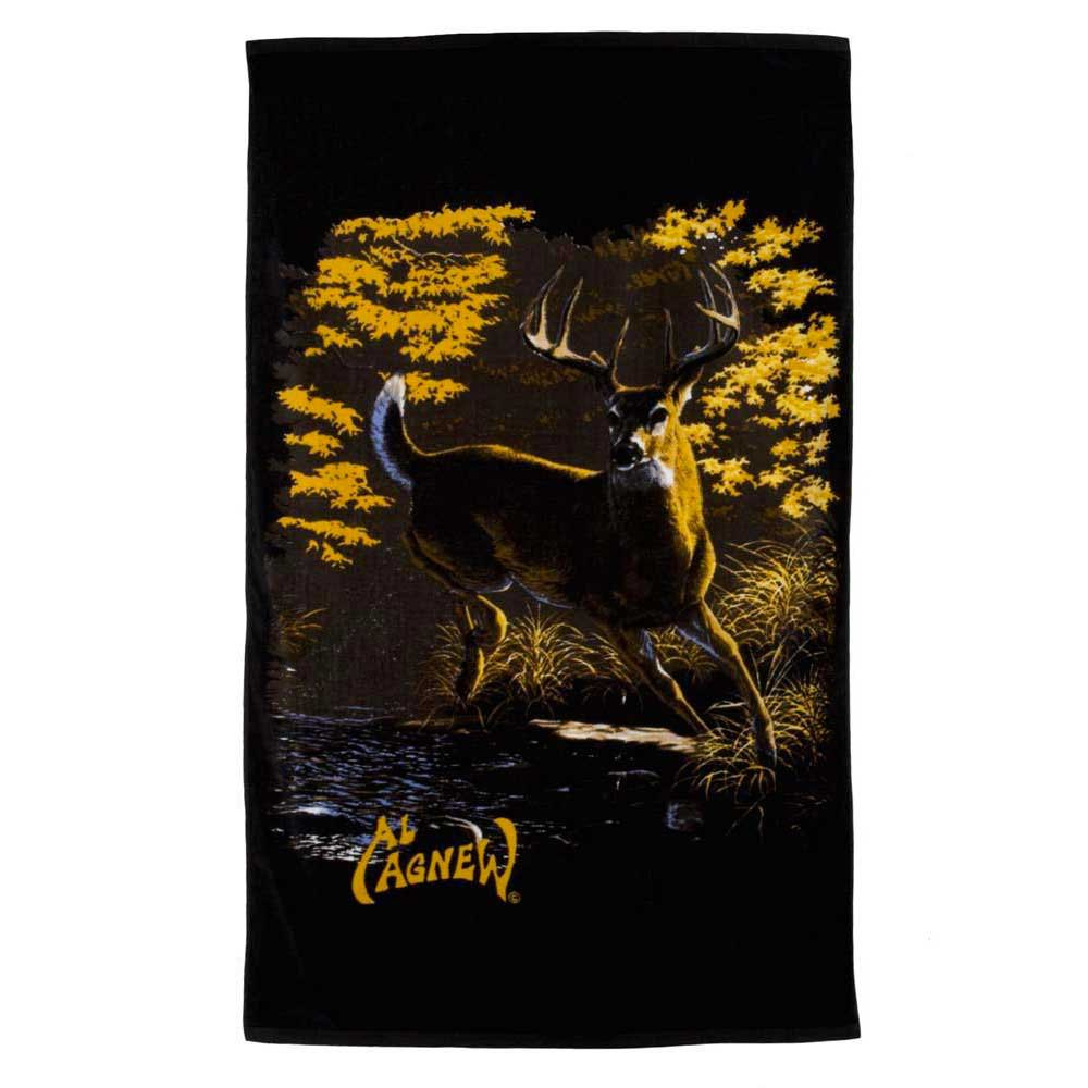 Al agnew Fall Buck Sport Towel