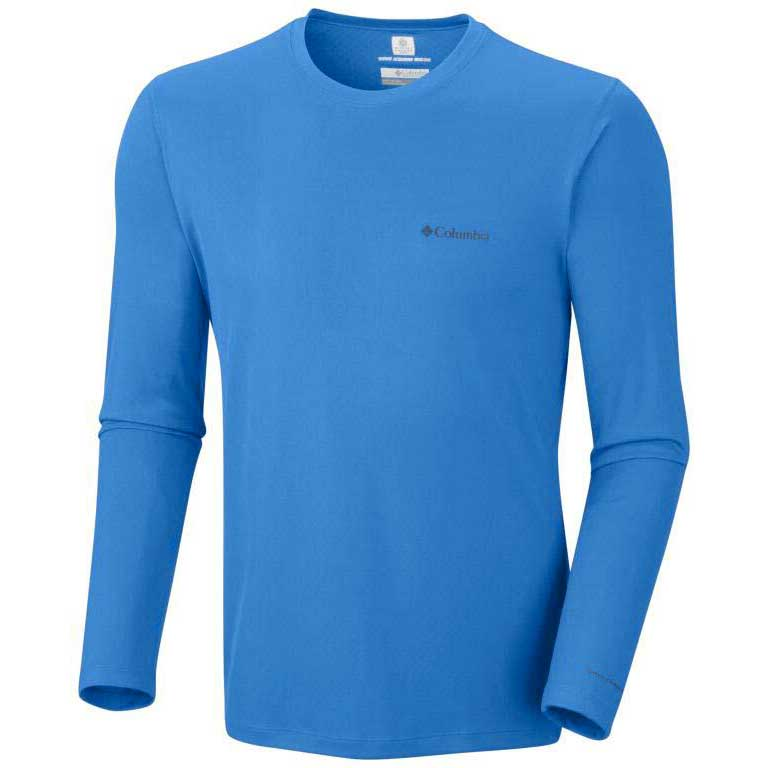 9b1ede54459 Columbia Zero Rules L/S Shirt Hyper Blue Blue, Waveinn