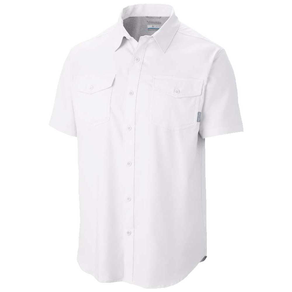 hemden-columbia-utilizer-ii-solid-s-s-shirt-l-white