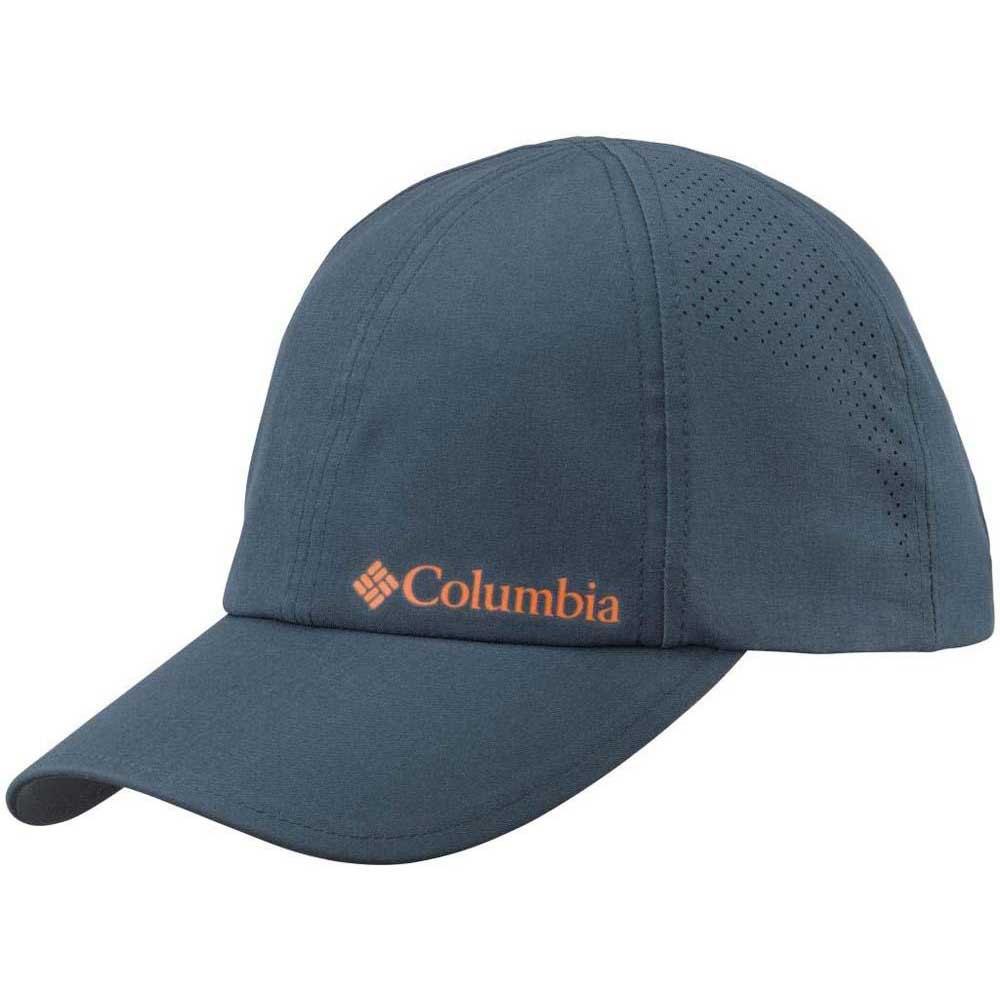 Columbia Silver Ridge Ball Cap II Night Shado Tangy Orange 08243b672c9b