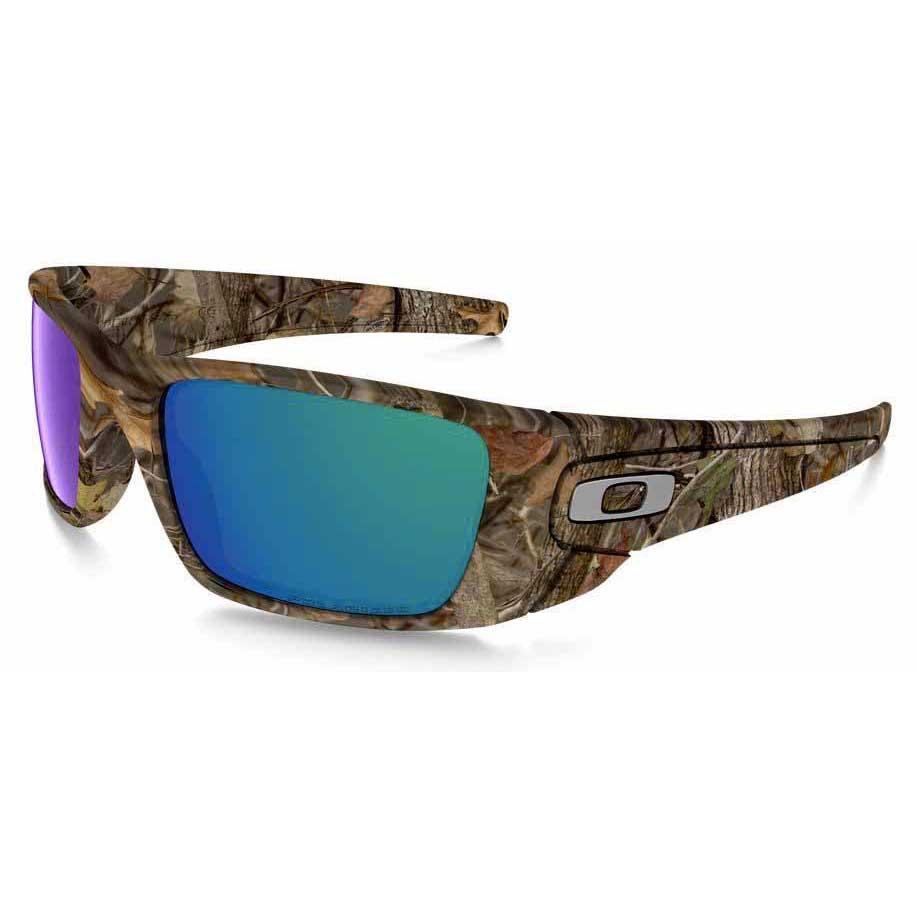 804256cd271 Oakley Fuel Cell Woodland Camo Shallow Blue Polarized