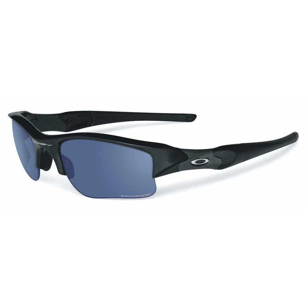 653e3c2273 Oakley Flak Jacket XLJ Polished Black Deep Blue Polarized