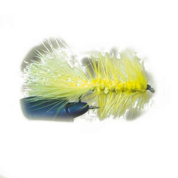 Blue fox Wolly Bugger Flash Tail 6 12 pcs