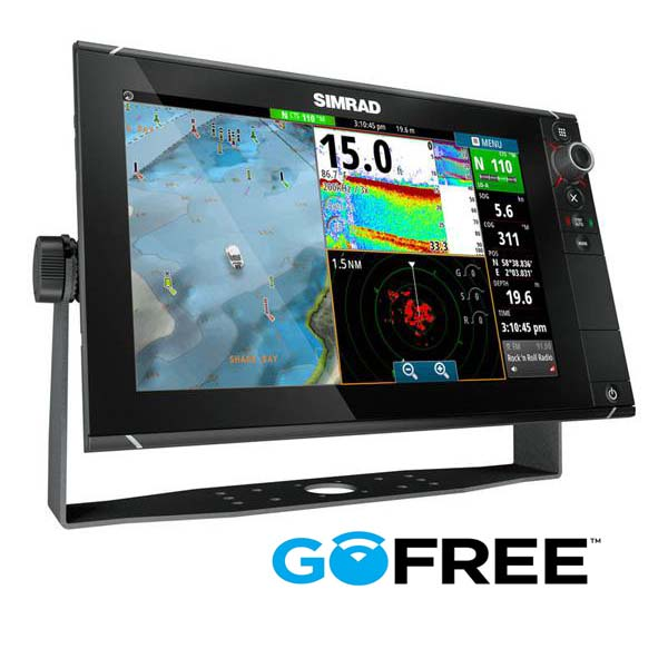 Simrad NSS12 evo2 with StructureScan