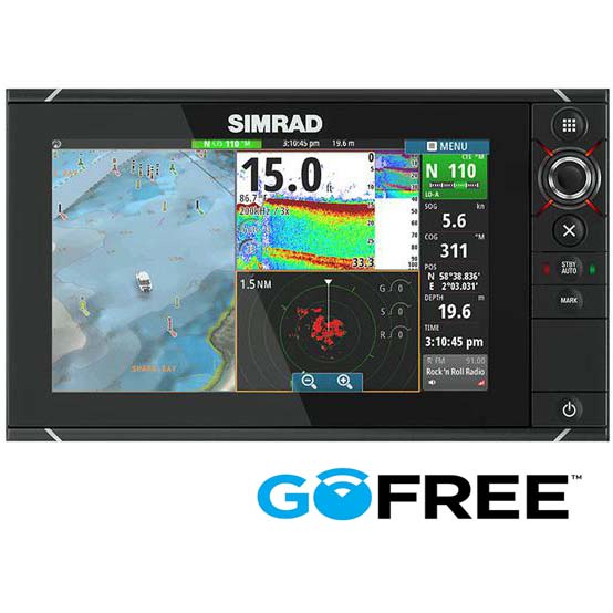 Simrad NSS9 evo2 with StructureScan