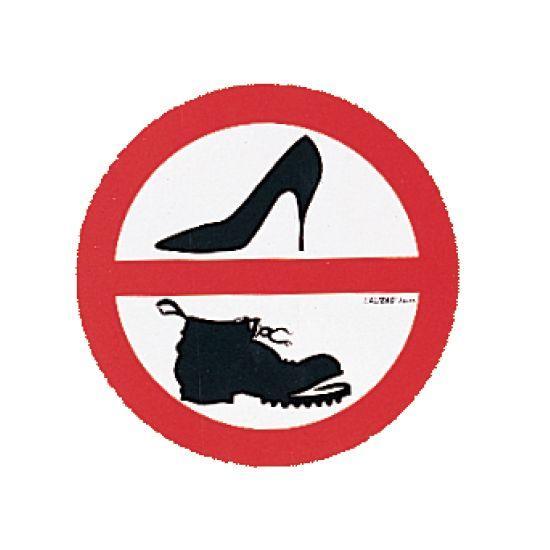 sicherheit-lalizas-sticker-no-shoes