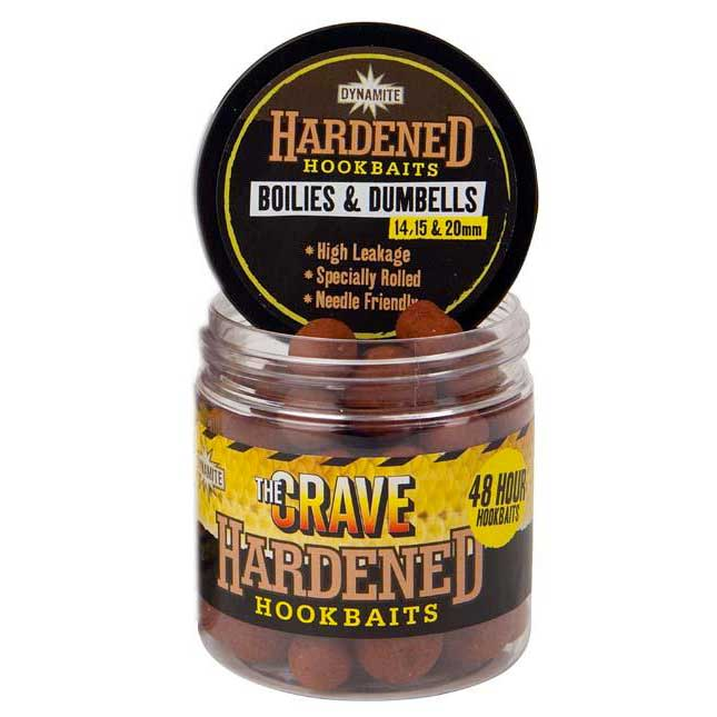Dynamite baits The Crave Hardened Hookbaits Dumbells and Boilies