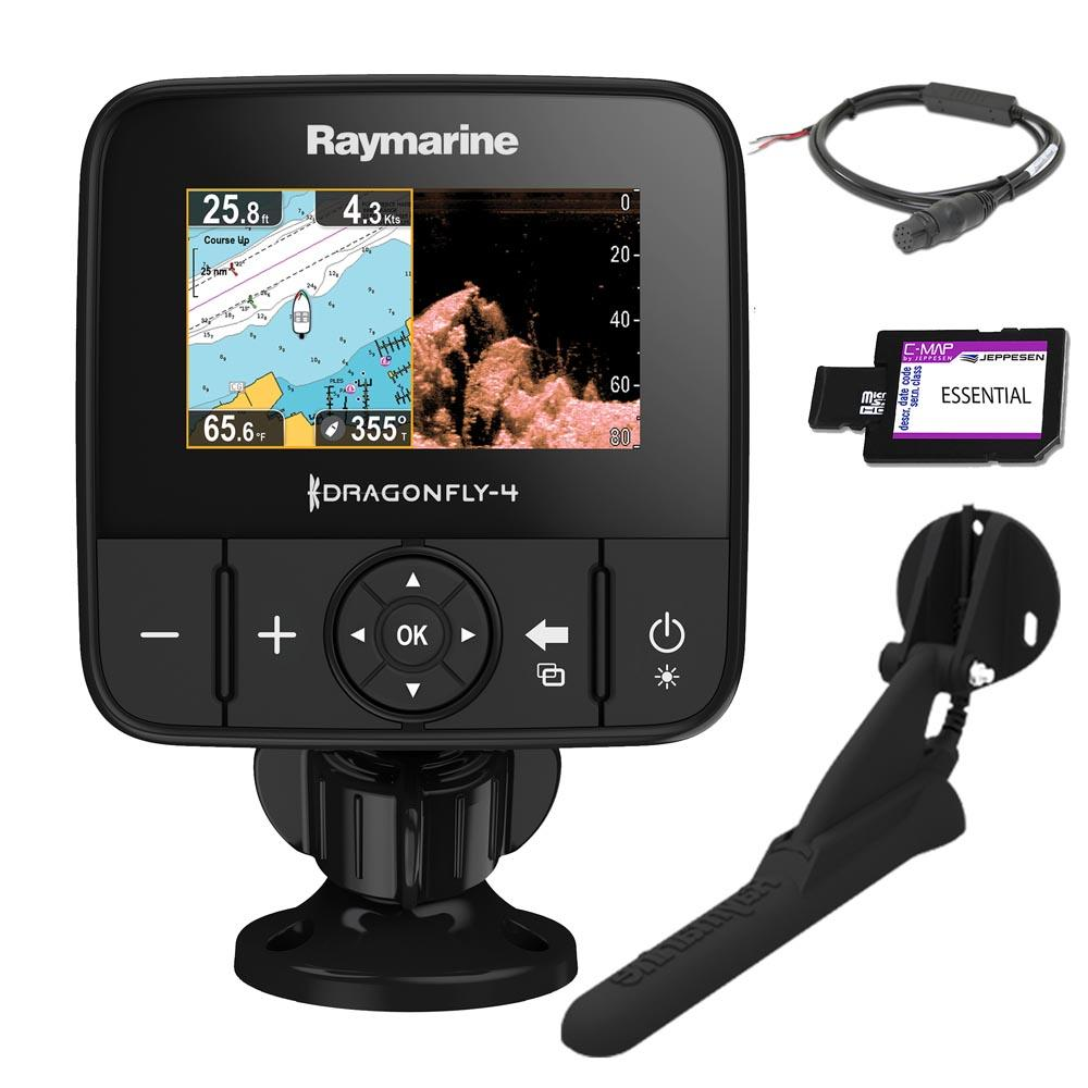 Raymarine Dragonfly 4 PRO CHIRP C-Map