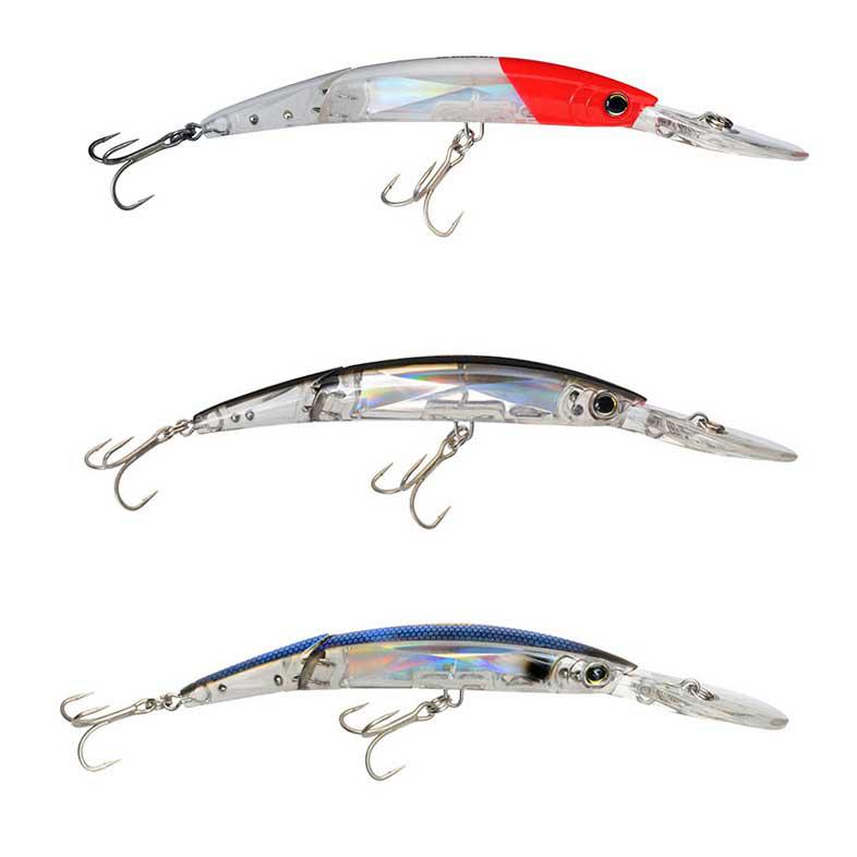 Yo-zuri Crystal 3D Minnow Deep Diver Jointed Floating 130mm