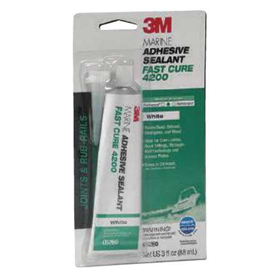 3m Marine Adhesive Sealant Fast Cure 4200 90 ml White