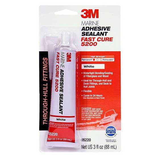 3m Marine Adhesive Sealant Fast Cure 5200 90 ml White