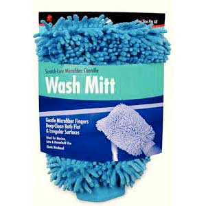 buffalo-microfiber-chenille-wash-mitt-blue