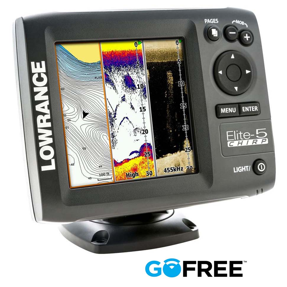 lowrance elite 5 chirp manual