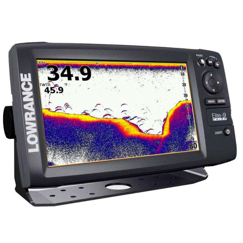 Lowrance Elite 9X CHIRP