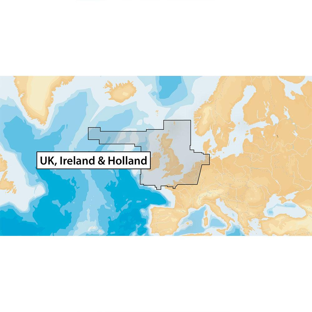 Navionics Gold XL9 UK Ireland Holland