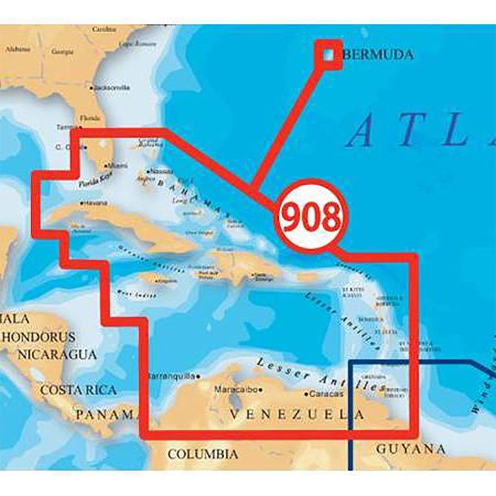 kartographie-navionics-platinum-xl3-caribbean-bermuda