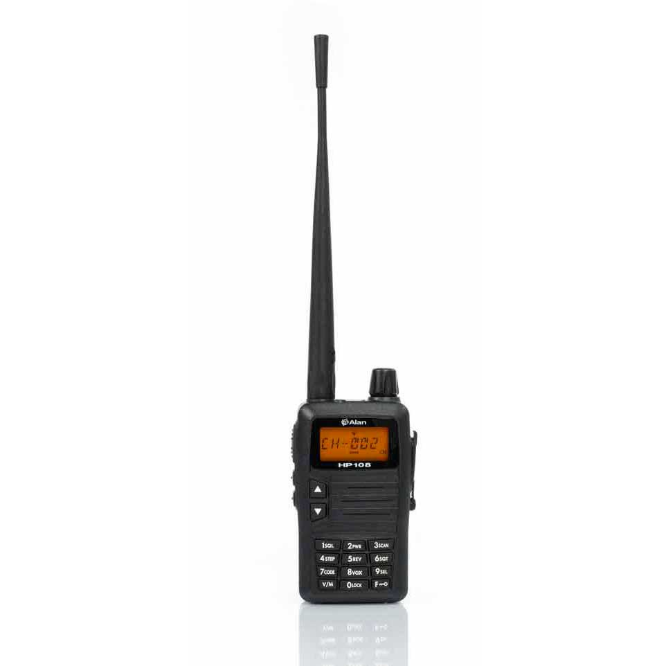 Midland Alan HP108 VHF Professional Portable Radio