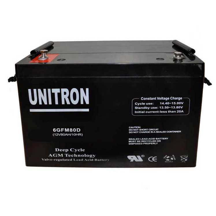 Unitron AGM Deep Cycle 90A/h-12V