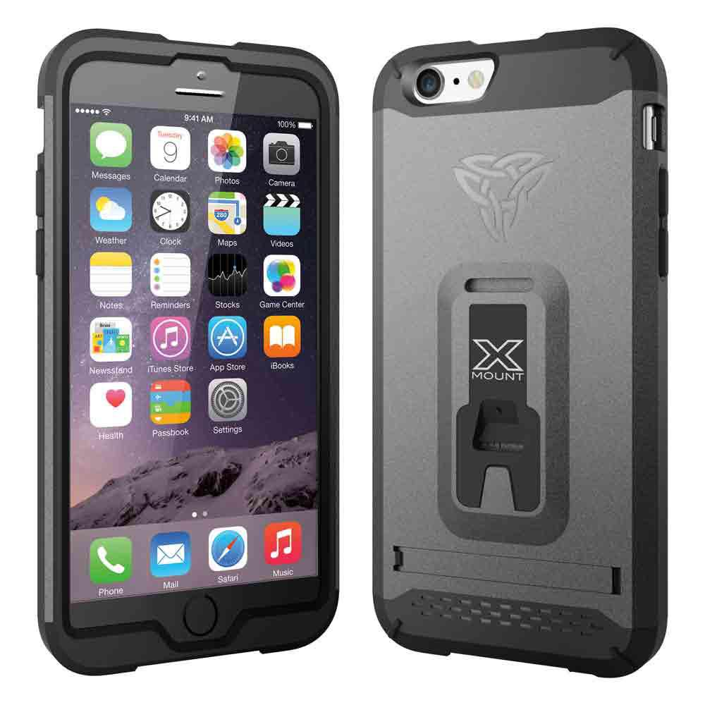 Armor-x cases Rugged Case Kickstand for iPhone 6 Gold