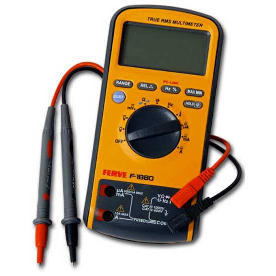 Ferve Digital Multimeter USB F1880