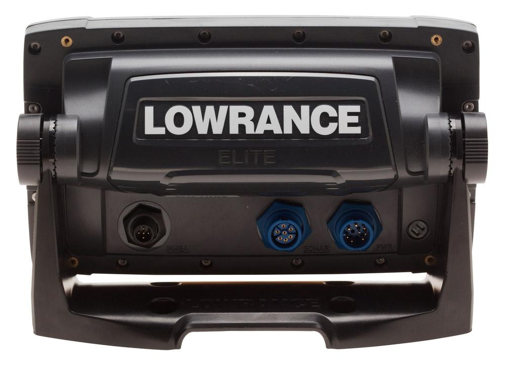 Lowrance Elite 7x CHIRP with Sun Cover and RAM Mount, Waveinn