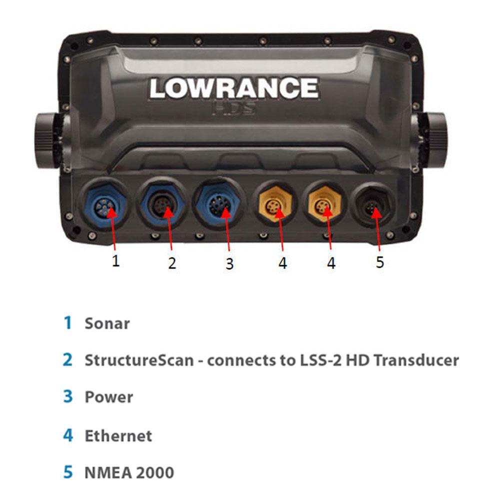 Lowrance Hds 12 Gen2 Touch With Sonarhub Waveinn Nmea Cable Wiring Diagram