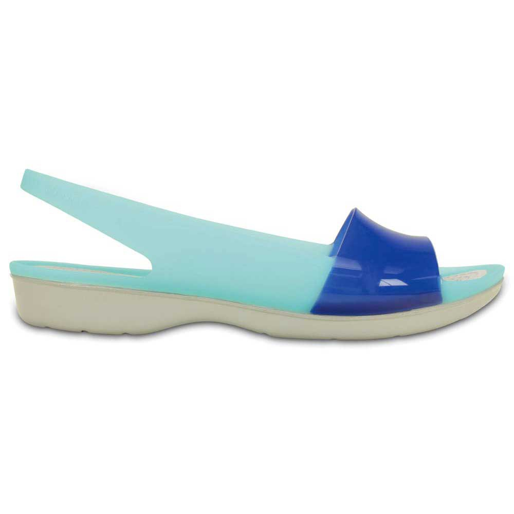 Crocs Colorblock translucent flat