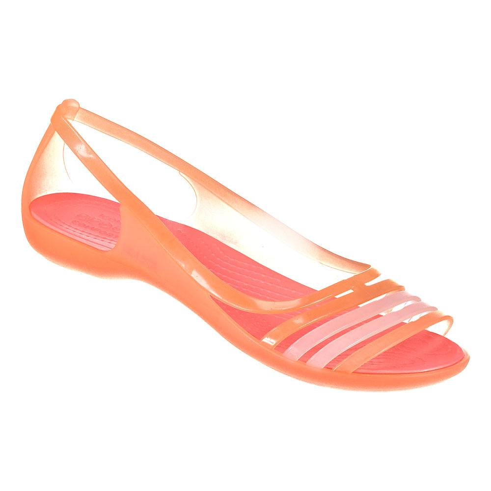 912c4c623941 Crocs Isabella Flat Sandal Orange buy and offers on Waveinn