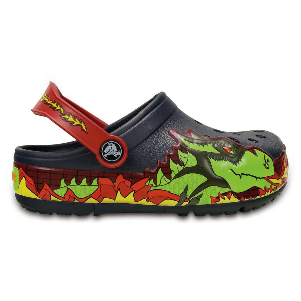 CROCS Crocslights Fire Dragon Clog