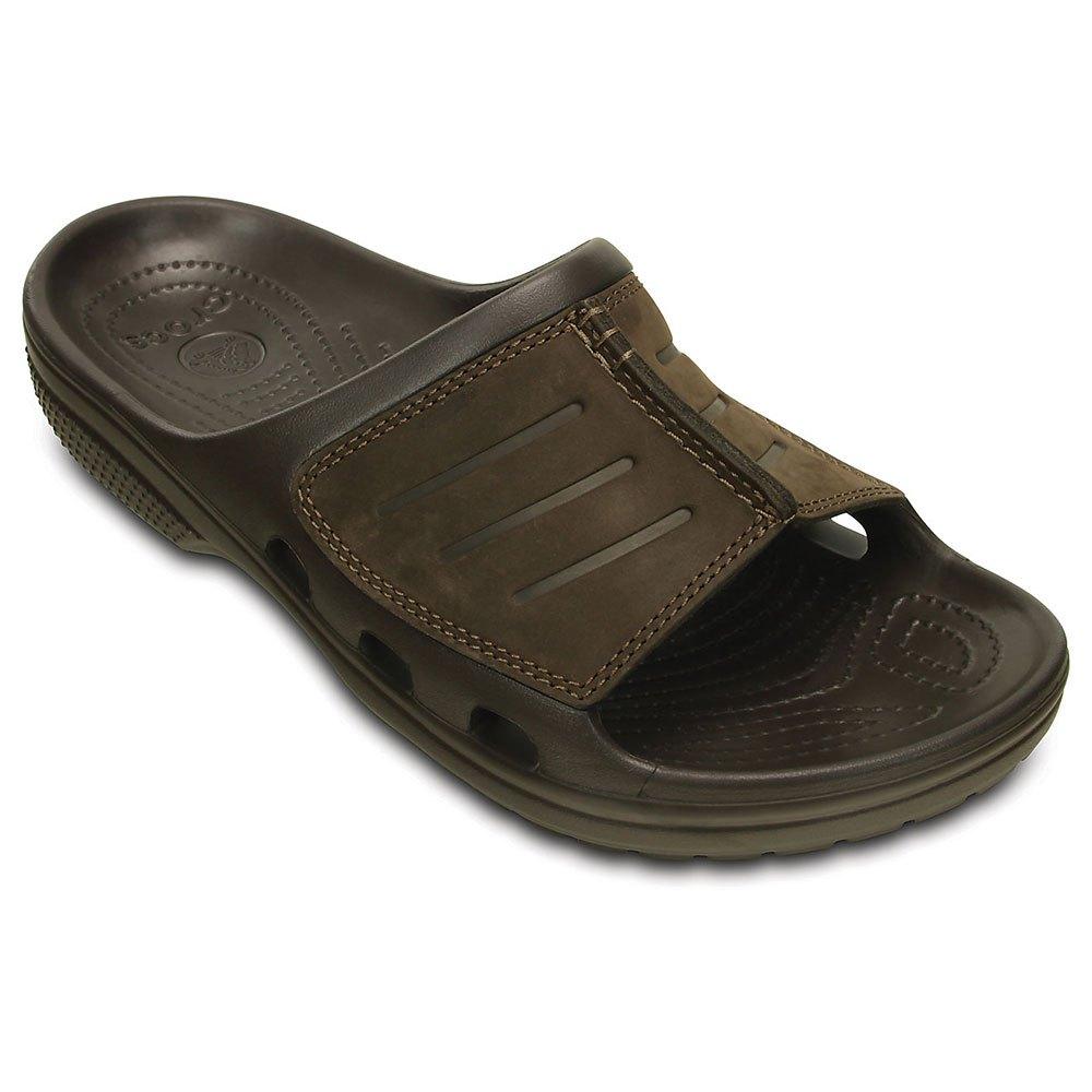ca982bc55af4 Crocs Yukon Mesa Slide Brown buy and offers on Waveinn