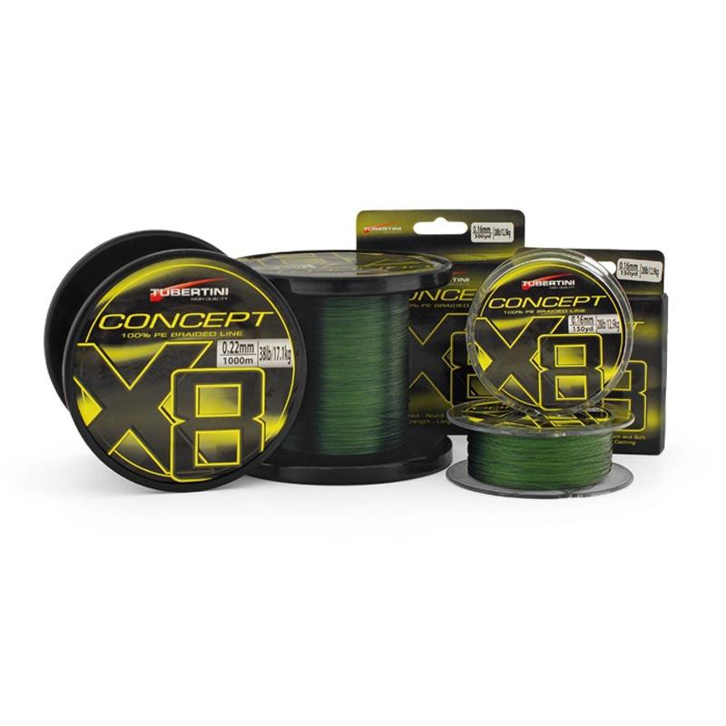 Tubertini lines Braided Line Concept X8 137