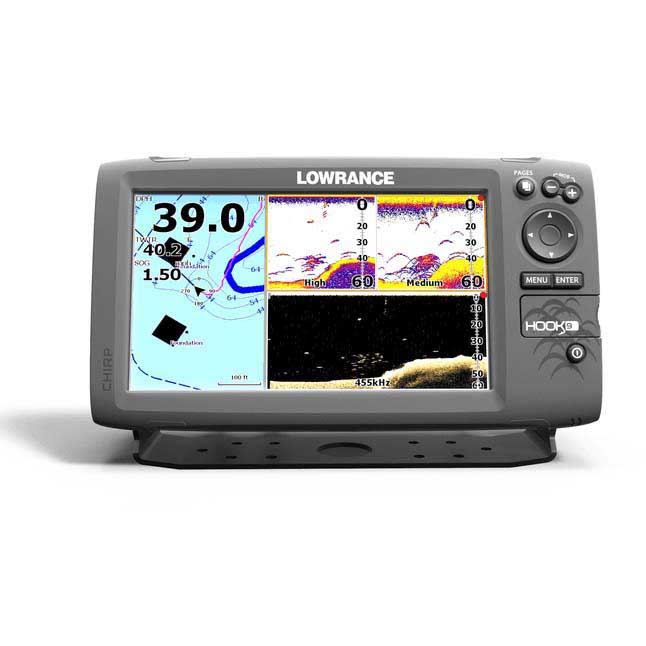 Lowrance Hook 9 Downscan