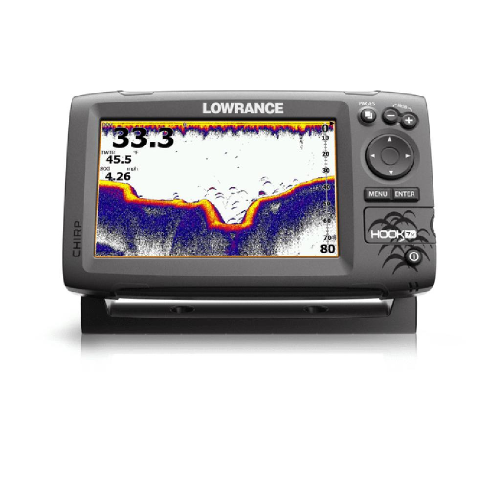 Lowrance Hook 7X Downscan