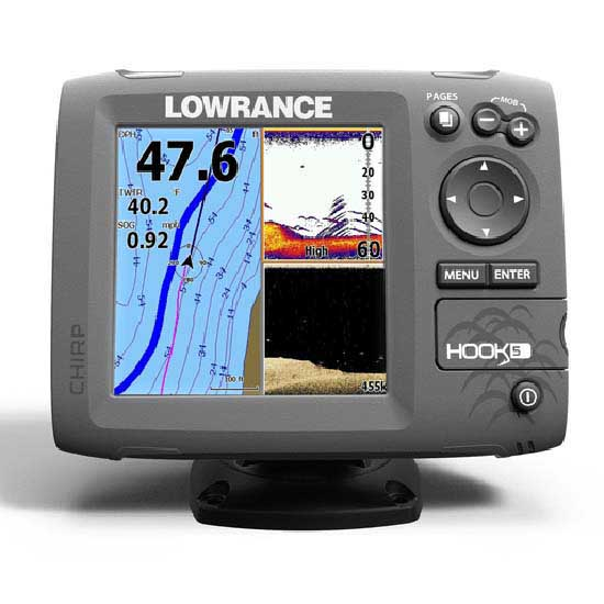 Lowrance Hook 5 Downscan