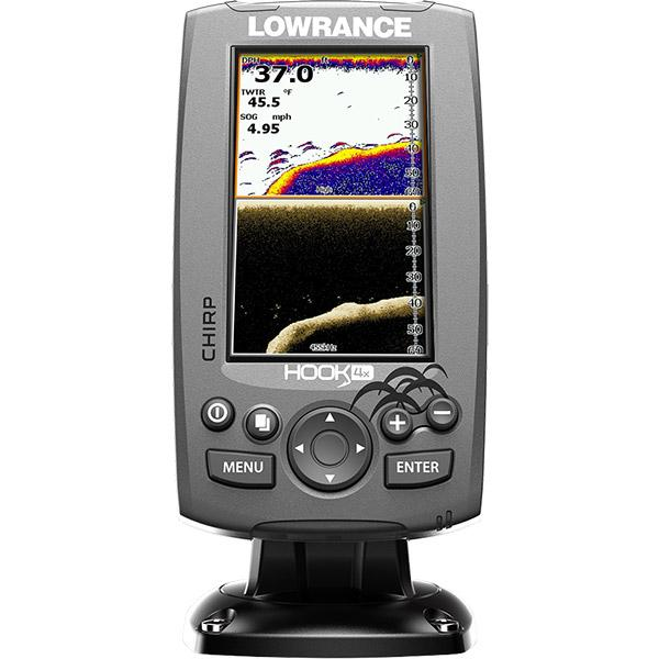 Lowrance Hook 4X Downscan