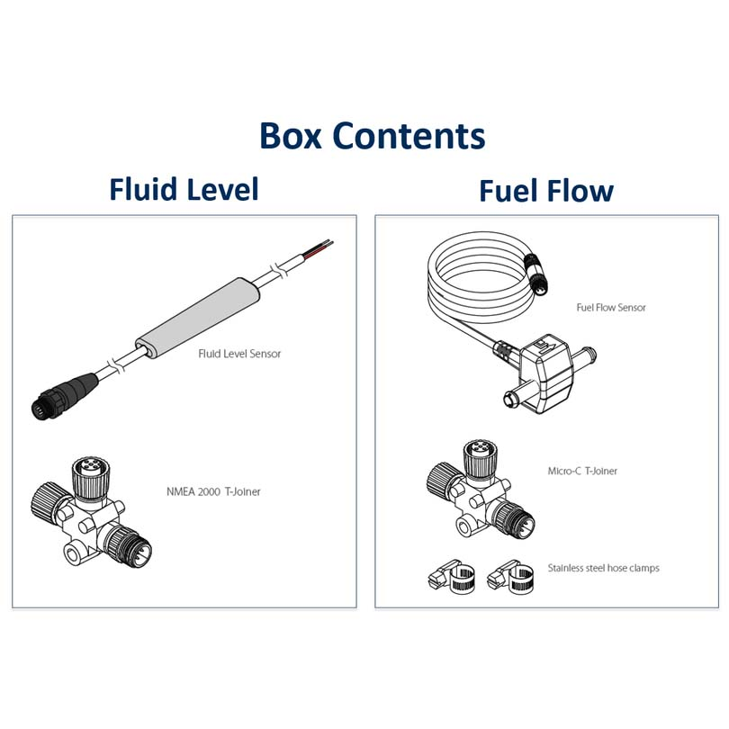 Lowrance Fuel Flow Sensor