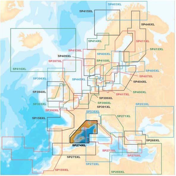 kartographie-navionics-platinum-xl-medirerranean-north-west