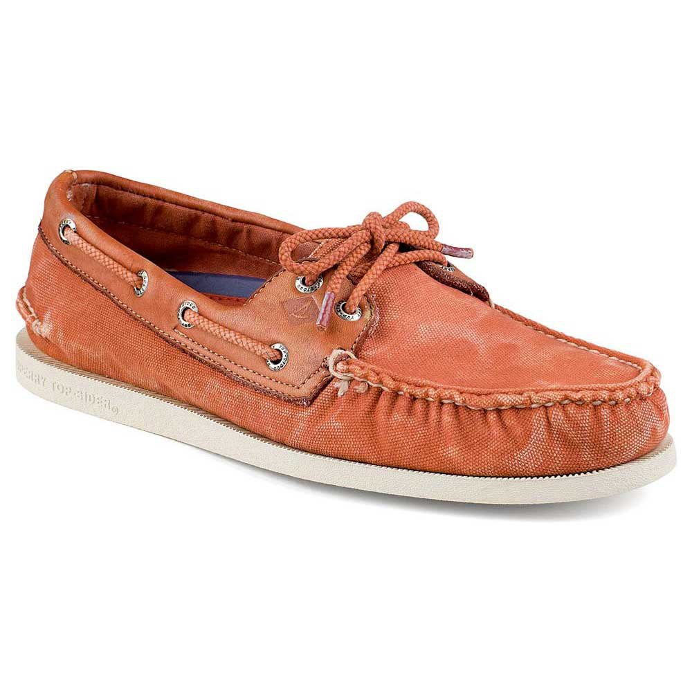 Sperry Authentic Original 2 Eye Wedge Canvas