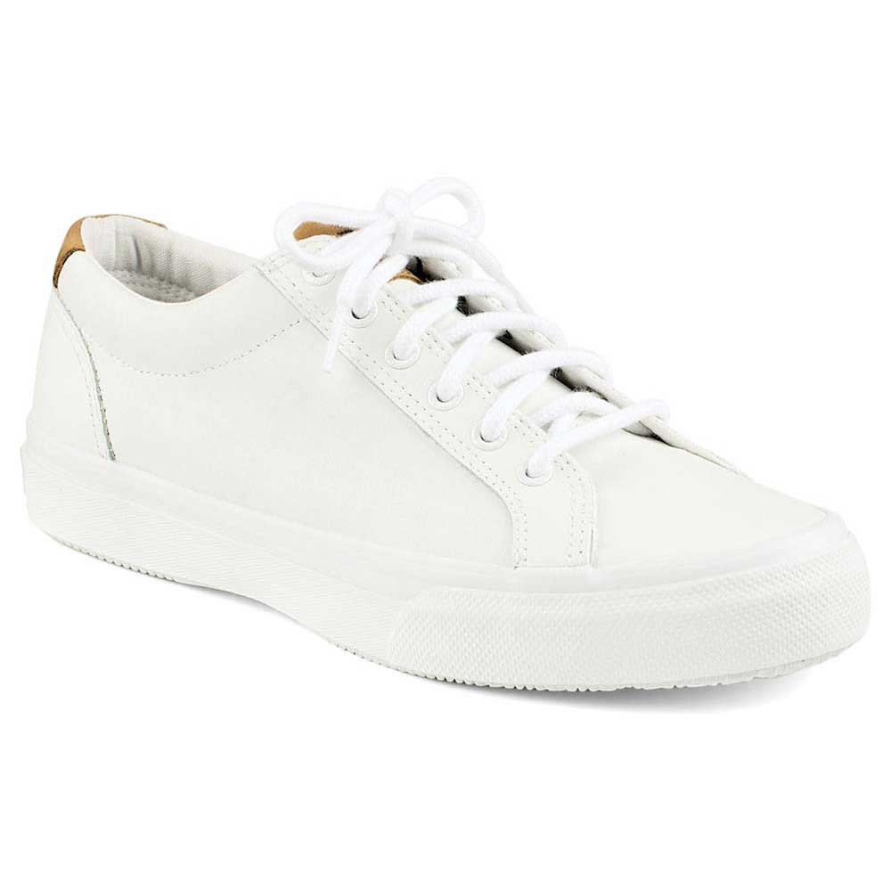 Sperry Striper Leather Lace Up Sneaker