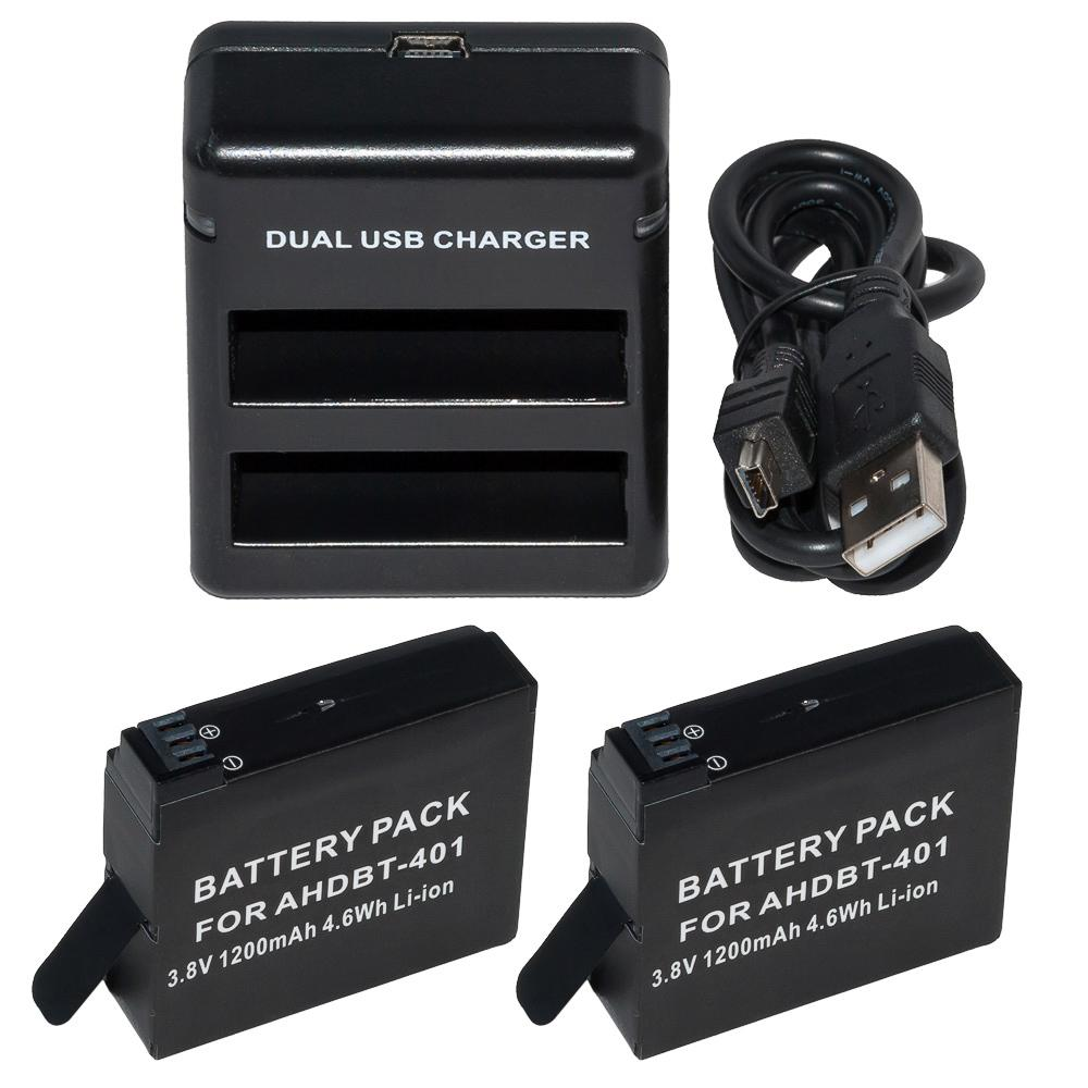 Action outdoor Dual Charger Pack