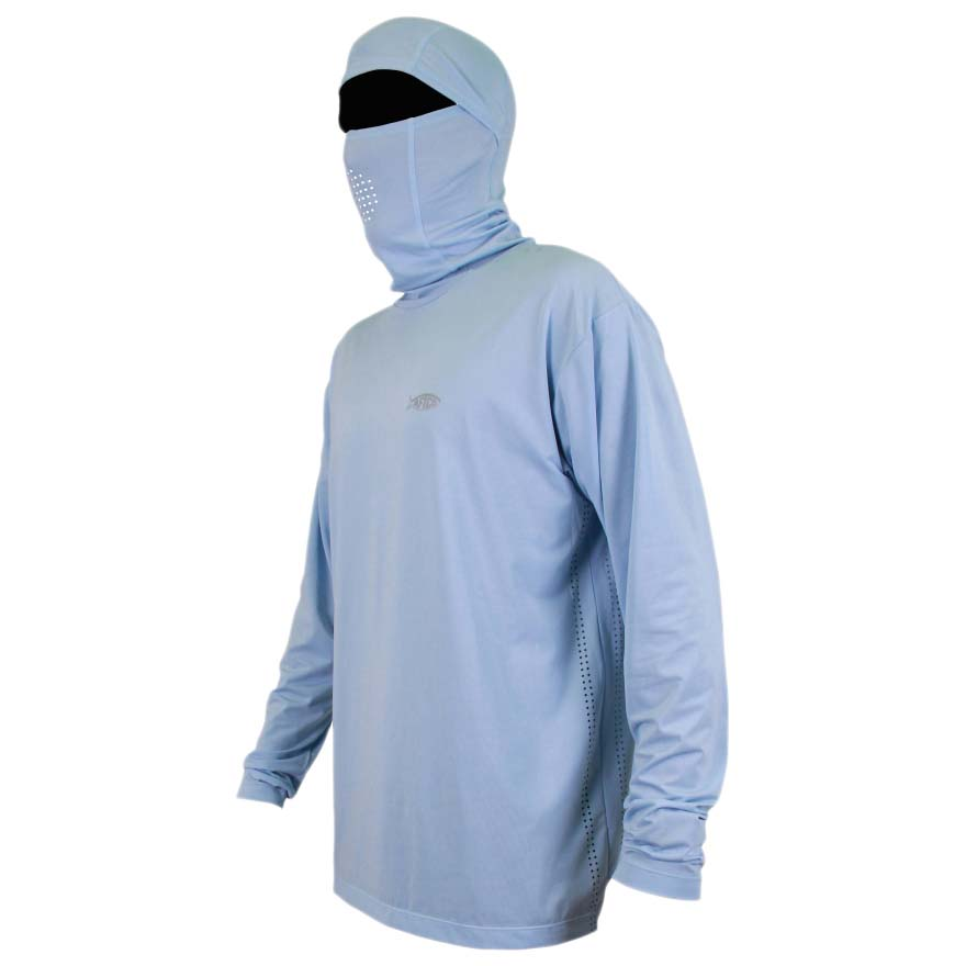 Aftco fish ninja performance fishing sun hoodie buy and for Public fishing access near me