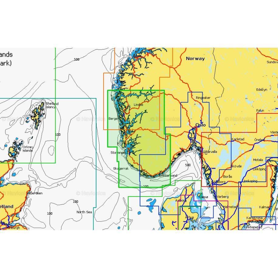 Navionics Platinum+ XL Bergen to Arendal, Waveinn