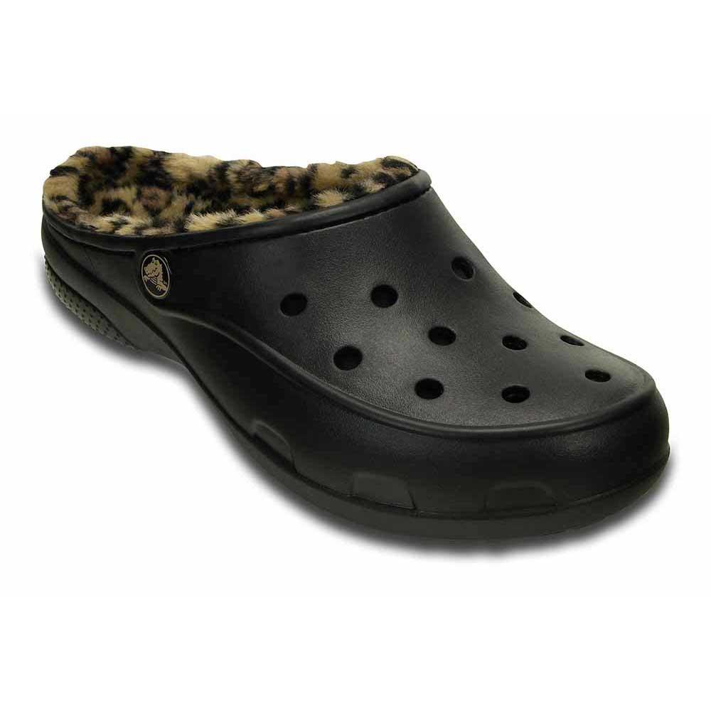 super jakość kupić najlepsze podejście Crocs Crocs Freesail Leopard Lined Czarny kup i oferty ...
