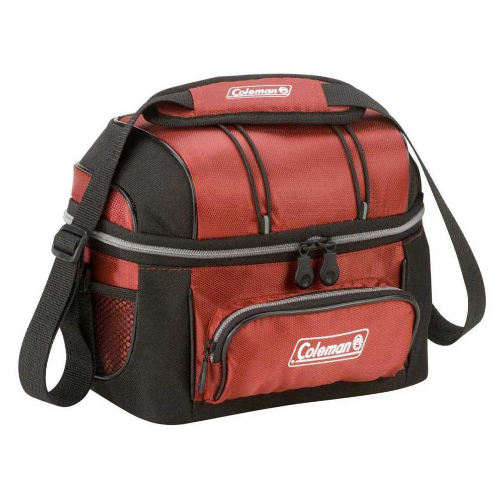schultertaschen-coleman-flexible-5-8-liter-red