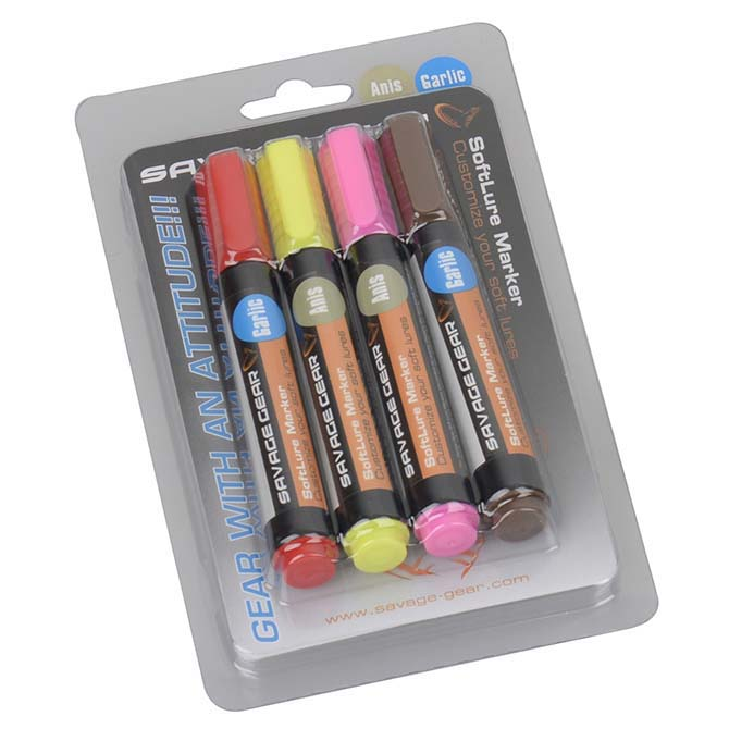 Savage gear Magic Softlure Marker Kit
