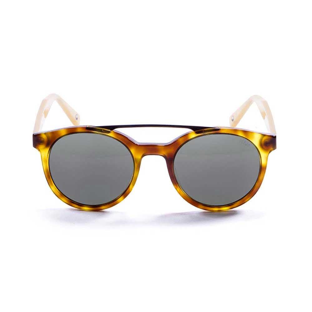 sonnenbrillen-ocean-sunglasses-tiburon-one-size-demy-brown-yellow