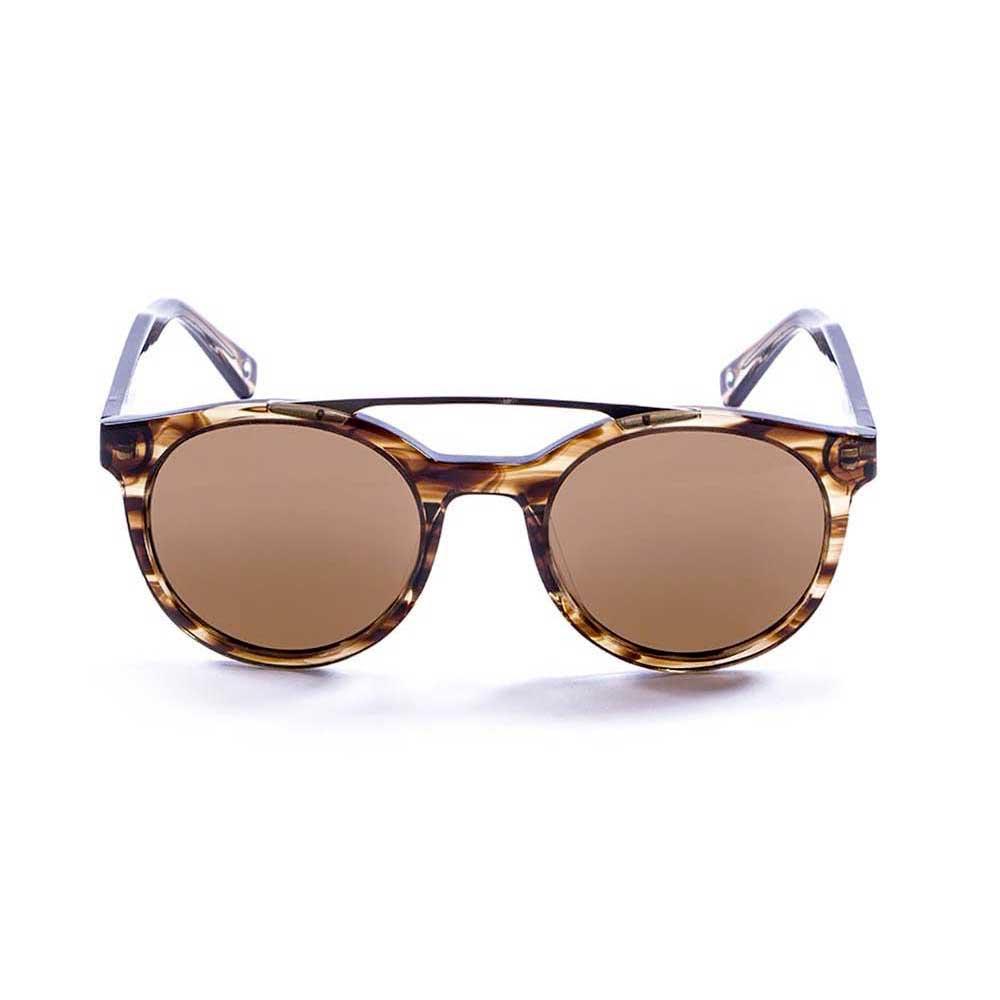 sonnenbrillen-ocean-sunglasses-tiburon-one-size-brown-wood-strip