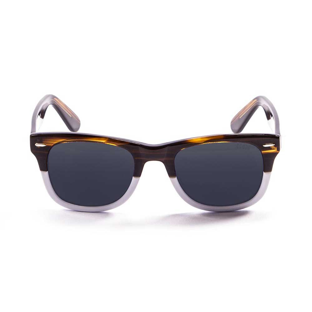 sonnenbrillen-ocean-sunglasses-lowers-one-size-brown-white-smoke