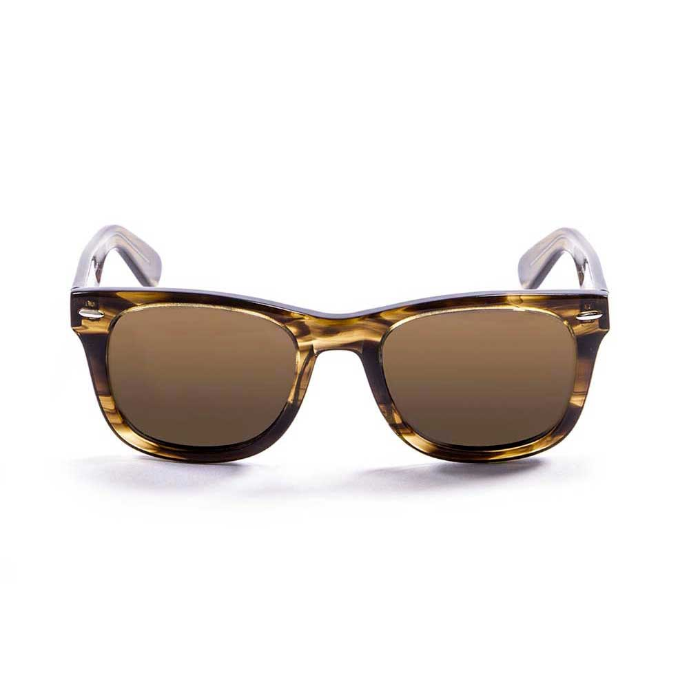 sonnenbrillen-ocean-sunglasses-lowers-one-size-brown-stained